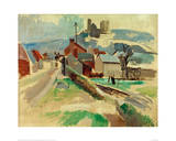 Street in Laon Study, 1912 Giclee Print by Robert Delaunay