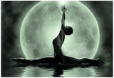 Moonlight Yoga Meditation Posters