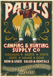 Minnesota - Paul Bunyan Camping Supply Posters