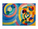 Circle Forms, 1930 Giclée-tryk af Robert Delaunay