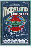 Baltimore, Maryland - Blue Crabs Posters