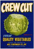 Crew Cut Lettuce Label - El Centro, CA Prints