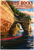 Pictured Rocks National Lakeshore, Michigan Prints