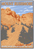 Mount Rushmore National Park, South Dakota Posters