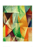 A Window, Study for 'The Three Windows', 1912/13 Giclee Print by Robert Delaunay