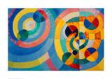 Circle Forms, 1930 Impressão giclée por Robert Delaunay