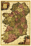 Ireland - Panoramic Map Print