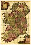 Ireland - Panoramic Map Print