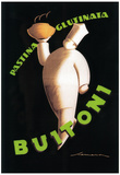 Tuscany, Italy - Buitoni Pasta Promotional Poster Posters