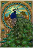 Peacock - Art Nouveau Posters