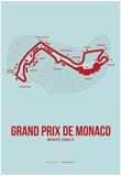 Monaco Grand Prix 3 Affiches par  NaxArt