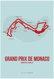 Monaco Grand Prix 3 Prints by  NaxArt