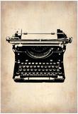 Vintage Typewriter 2 Affiches
