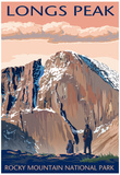 Longs Peak - Rocky Mountain National Park Posters
