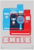 Smile Polaroid Poster Posters af NaxArt