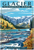 Avalanche Lake - Glacier National Park, Montana Posters