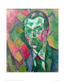 Self-Portrait, 1909 Giclee Print by Robert Delaunay