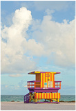 Miami Beach Florida Lifeguard House Prints