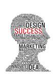 Marketing Success Head Communication Poster