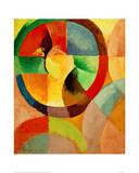 Circular Shapes, Sun No.1, 1912 Giclée-tryk af Robert Delaunay