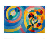 Circle Forms, 1930 Giclee Print by Robert Delaunay