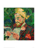 Portrait of Henry Carlier, 1906 Giclee Print by Robert Delaunay