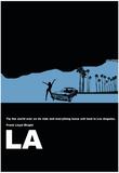 Los Angeles, poster avec citation de Frank Lloyd Wright Affiches