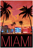 South Beach Miami, Florida, c.2008 Posters