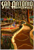 The Riverwalk - San Antonio, Texas Posters