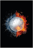 Volleyball Ball Affiches