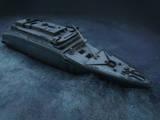 The Stern of the Titanic Lies on the Seafloor Giclee Print by Skaramoosh, Ltd