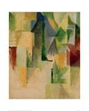 Window, 1912/13 Giclée-tryk af Robert Delaunay