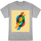 Vintage Retro Number Sixty Nine T-shirts