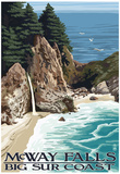 McWay Falls - Big Sur Coast, California Prints