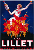 Kina Lillet Vintage Poster - Europe Photo