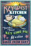 Key West, Florida - Key Lime Pie Prints