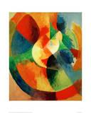 Circular Shapes, 1912/13 Giclée-tryk af Robert Delaunay