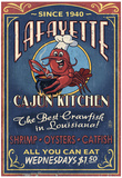 Lafayette, Louisiana - Cajun Kitchen Prints