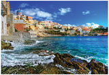 Beautiful Greek Islands Series - Syros Affiches