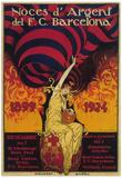 Barcelona, Spain - Soccer Promo Poster Prints