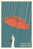 Portland, Oregon - Umbrella Photo