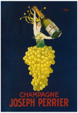 France - Joseph Perrier Champagne Promotional Poster Posters