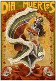Dia De Los Muertos Affiches