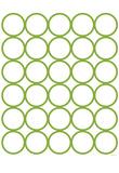 Green Circles Posters