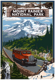 Mount Rainier National Park Prints