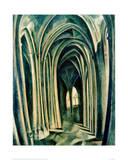 Saint-Séverin No. 3. 1909-1910 Giclée-tryk af Robert Delaunay