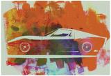 Lamborghini Miura Side 2 Poster