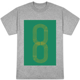Eight Track Runners Never Quit T-shirts