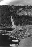 Lummi Island, WA - Lummi Rocks View with Row Boats Photograph Posters