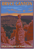 Thor's Hammer, Bryce Canyon, Utah Posters